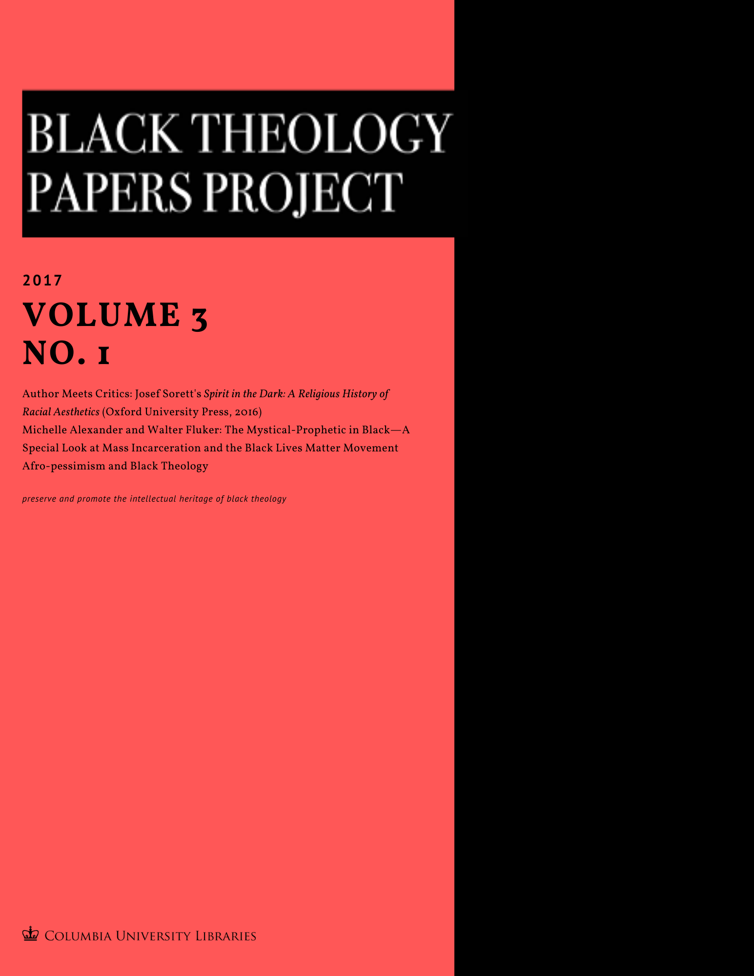 Black Theology Papers Vol. 3