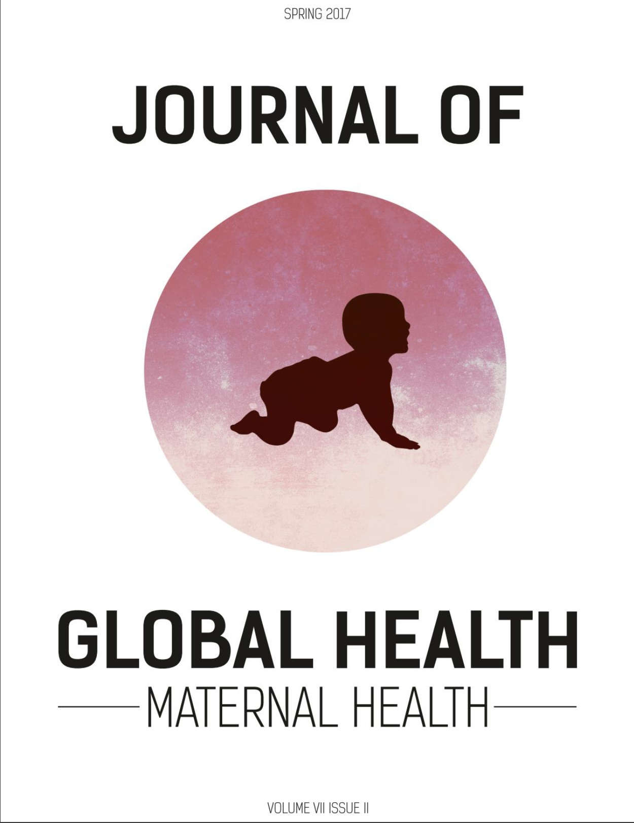 Cover of the Journal of Global Health Spring 2017 Issue
