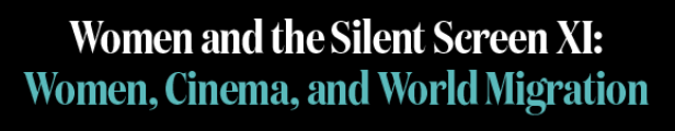 Logo for Women and the Silent Screen conference