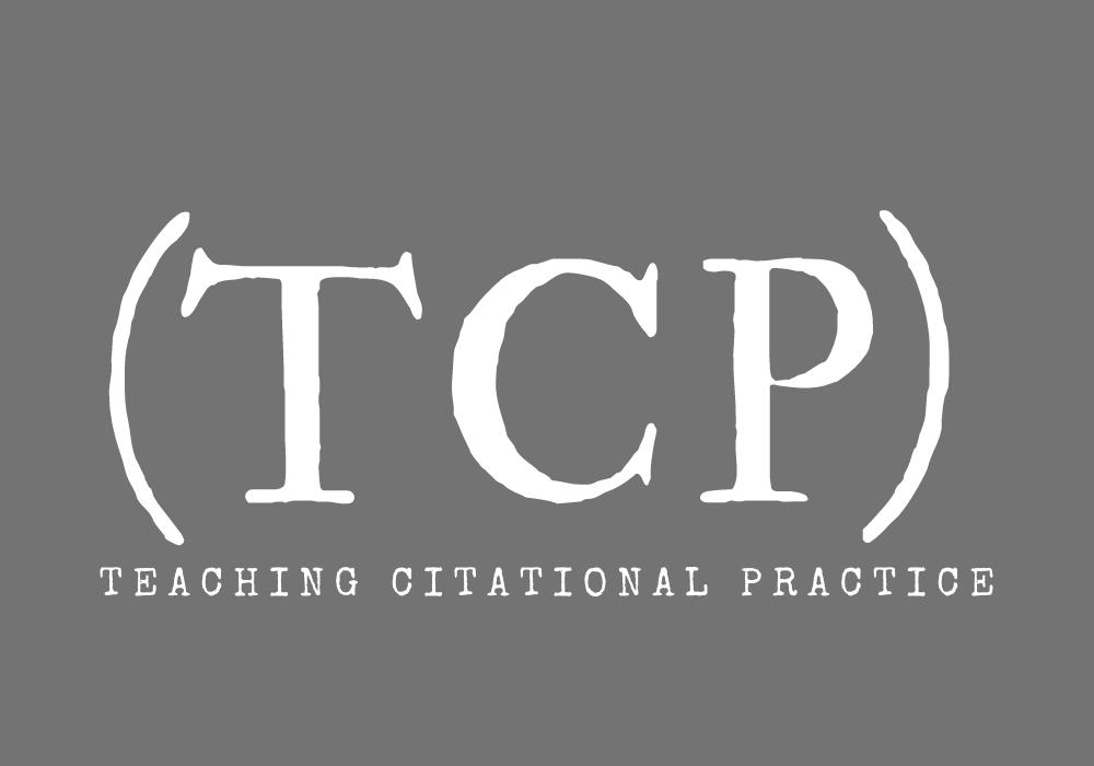 Teaching citational practice logo